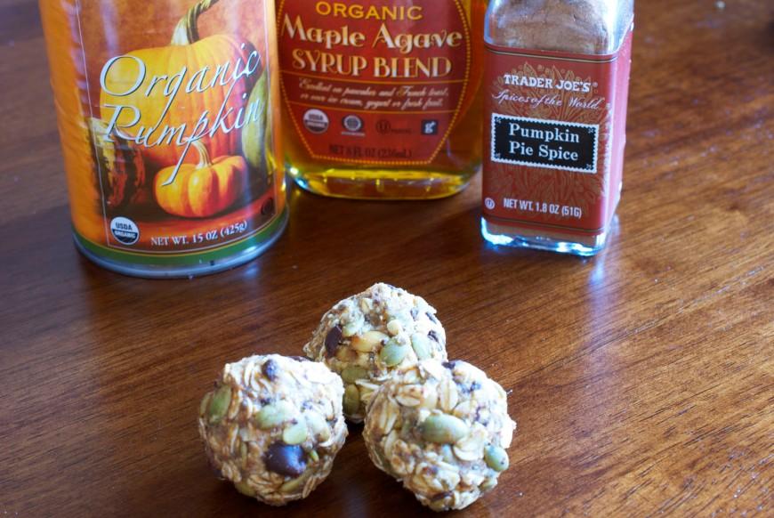 Pumpkin Spice Bites