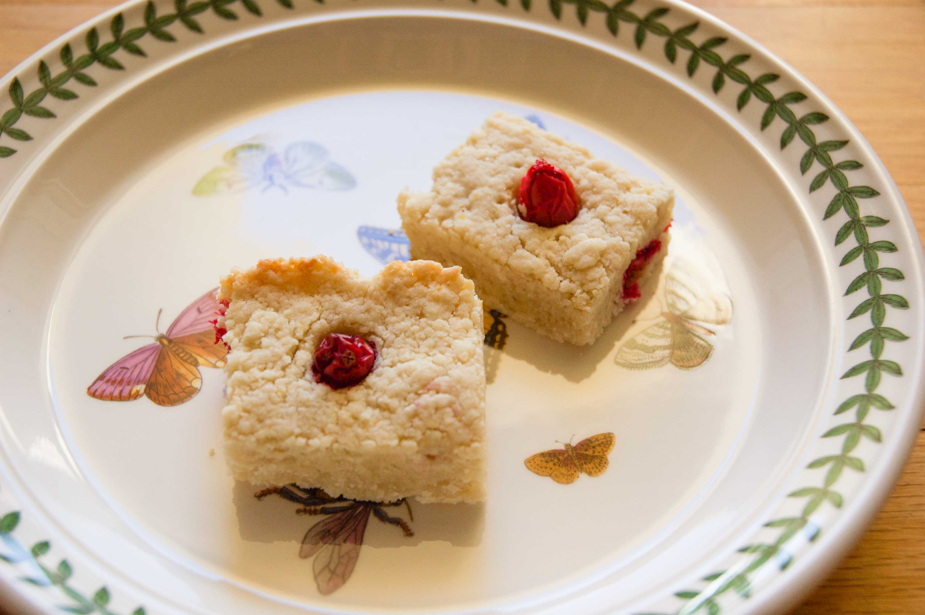 Cranberry Lemon Shortbread Bars |